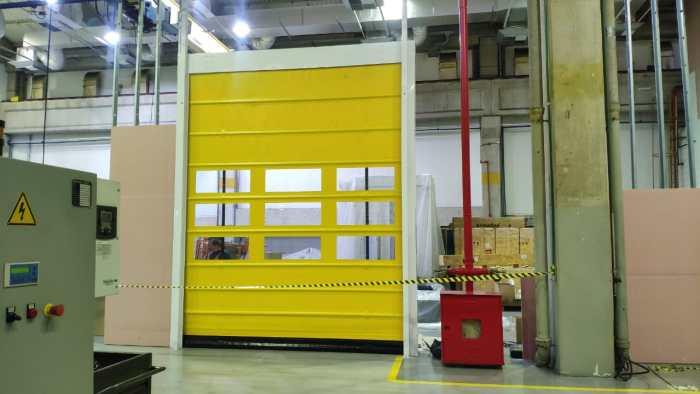 Kit Porta de PVC Porta Flexível de Polipropileno porta flexível de polipropeno