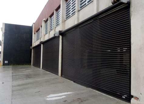 Kit Porta Industrial de Aço Porta de Enrolar Automatizada Motor para Portão de Garagem