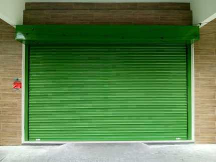 Portas de Aço Para Lojas Cortina Metálica de Enrolar