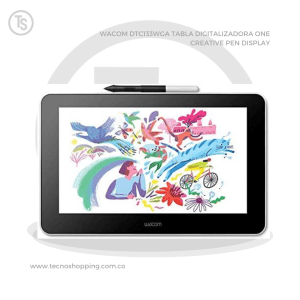 WACOM DTC133WGA TABLA DIGITALIZADORA ONE CREATIVE PEN DISPLAY