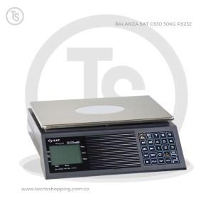 BALANZA SAT CS30 30KG RS232