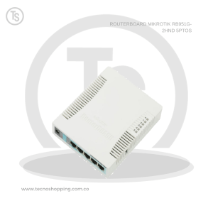 ROUTERBOARD MIKROTIK RB951G-2HND 5PTOS