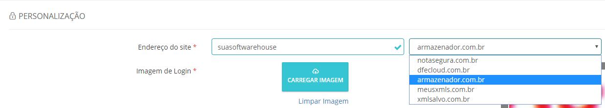 Nota Segura Personalização de URL