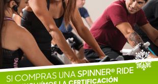 Promoción Spinner Ride con Certificación FREE Incluida por TECNOSPORTS