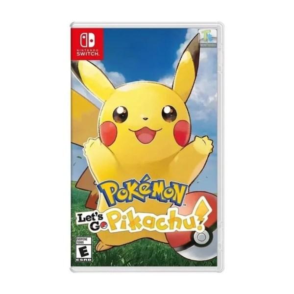 Pokemon Picachu Nintendo Switch