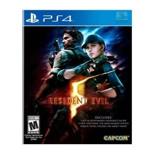 Resident Evil 5 PlayStation 4