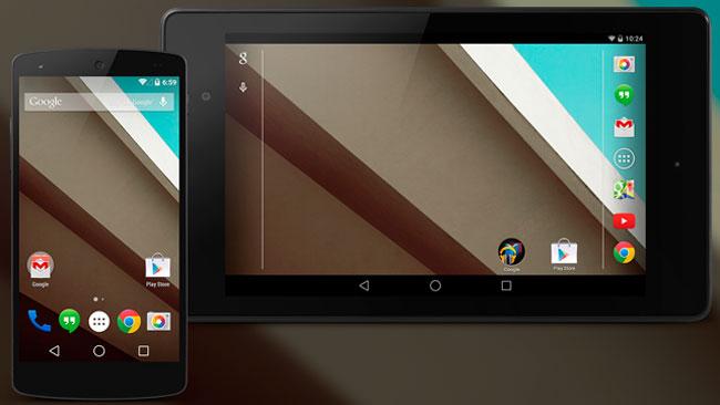 Nexus 5 Nexus 7