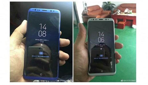 Samsung Galaxy S8 avvistato in diverse colorazioni: grigio, blu, viola e silver