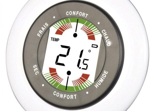 thermometre hygrometre interieure Pièce chauffage