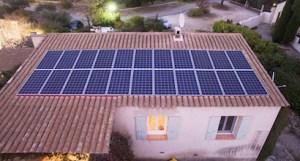 Autoconsommation photovoltaique panneau 1