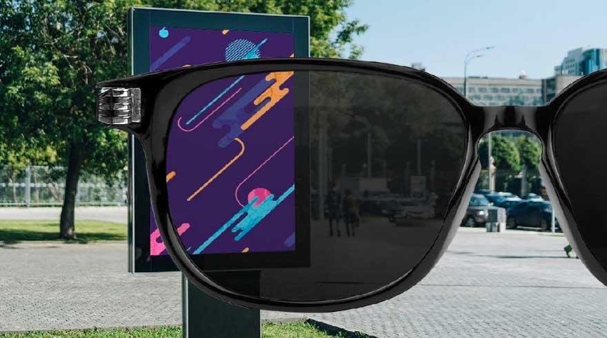 Cristallo totem outdoor IK10 anti vandalo polarizzato