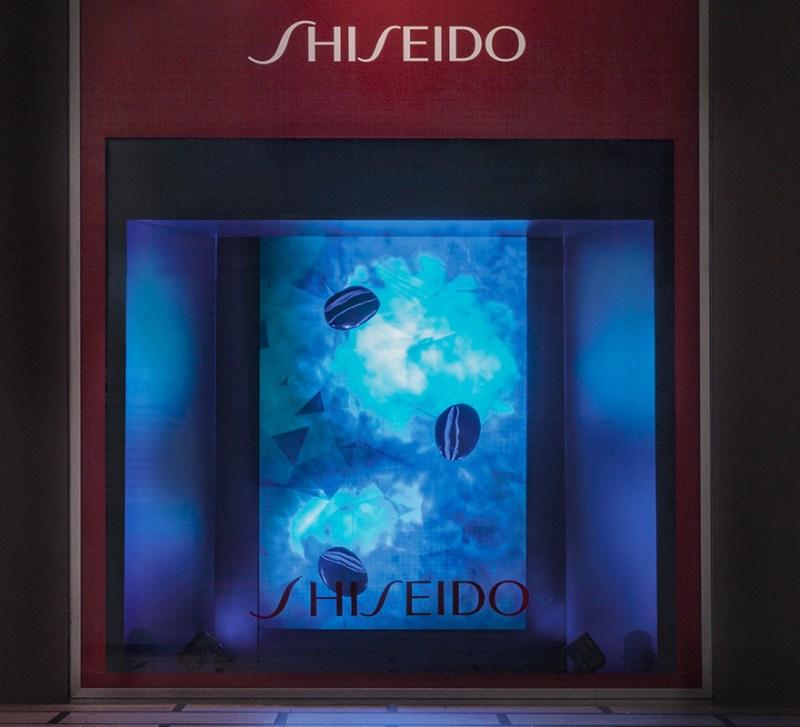 ledwall vetrine digitali Shiseido vetrinaggio Rinascente display LED