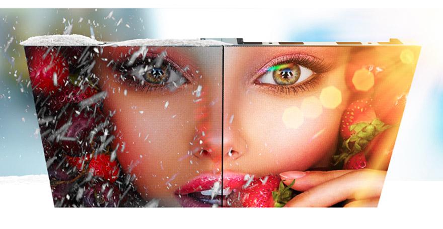 modulo ledwall outdoor resistente agli eventi atmosferici video wall maxischermo LED