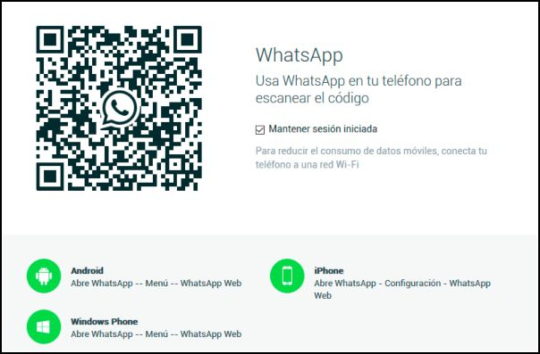 escanear código QR de WhatsApp en Smart TV