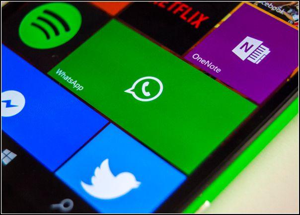 WhatsApp Nokia Lumia