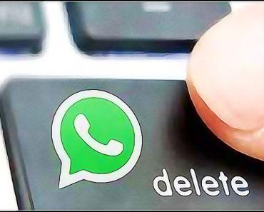 Borrar contacto WhatsApp