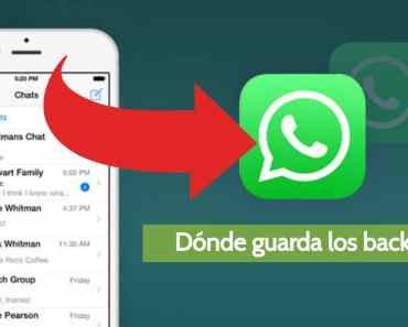 donde guarda whatsapp las copias de seguridad
