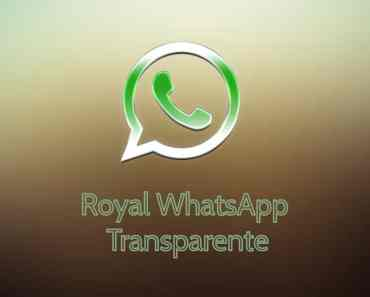 Royal WhatsApp Transparente