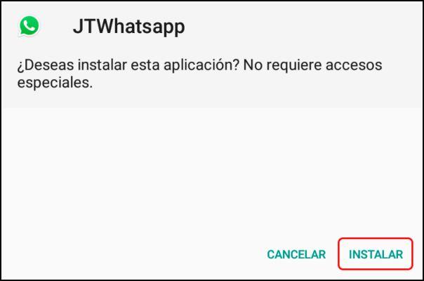instalar WhatsApp Plus Jimods