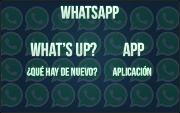 qué significa WhatsApp