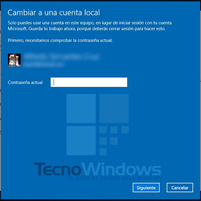 Cómo quitar la contraseña en Windows 10 5