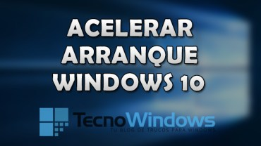 Cómo acelerar el arranque de Windows 10 1