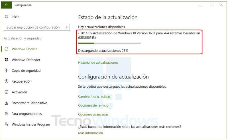 Cómo actualizar Windows 10