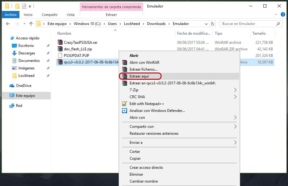 Emulador de playstation 3 para pc windows 7
