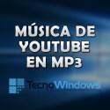 Cómo descargar música de YouTube en MP3