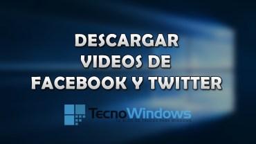 Cómo descargar videos de Facebook y Twitter en Windows 10 1