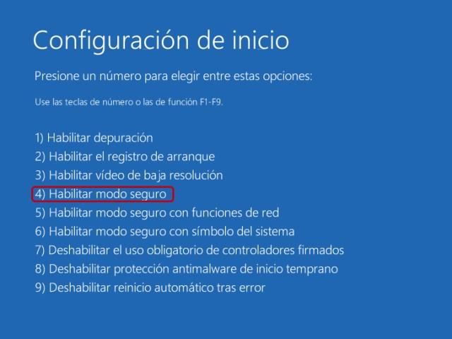Cómo entrar y quitar el modo seguro en Windows 10