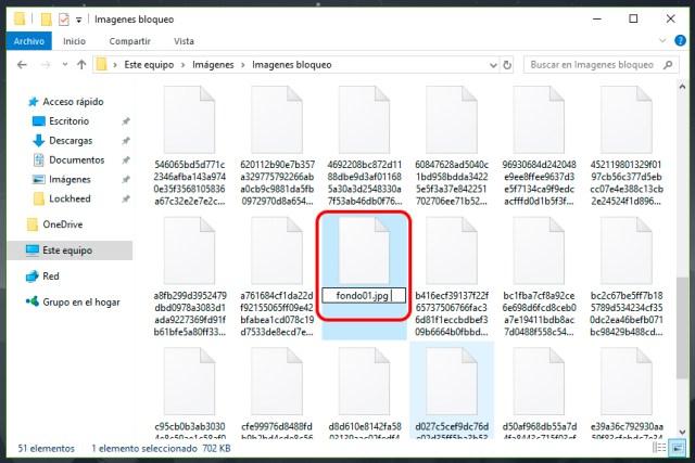 Dónde están las imágenes de pantalla de bloqueo en Windows 10
