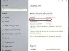 Cómo saber qué build de Windows 10 tengo instalada
