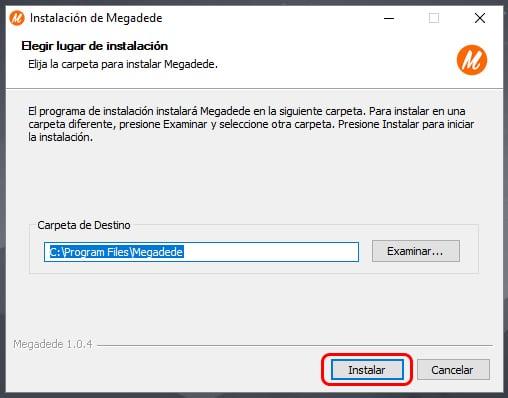 Descargar Megadede para PC