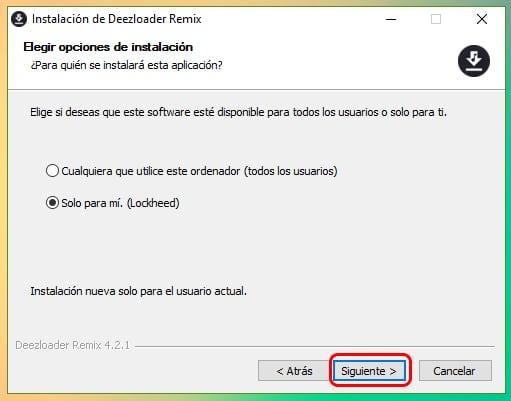 Descargar e instalar Deezloader Remix para Windows 10 (Abril 2019) 2