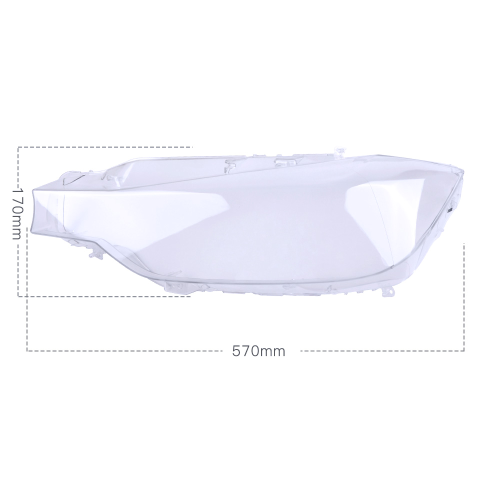 Pair Headlight Headlamp Lens Cover Fits For Bmw 3 F30 320i