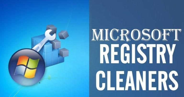 Microsoft registry cleaner