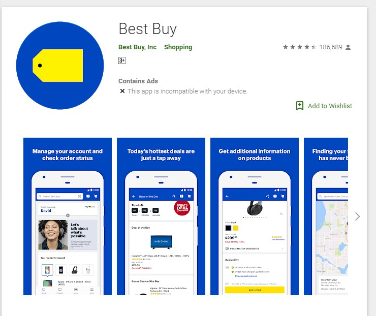Best buy credit card app