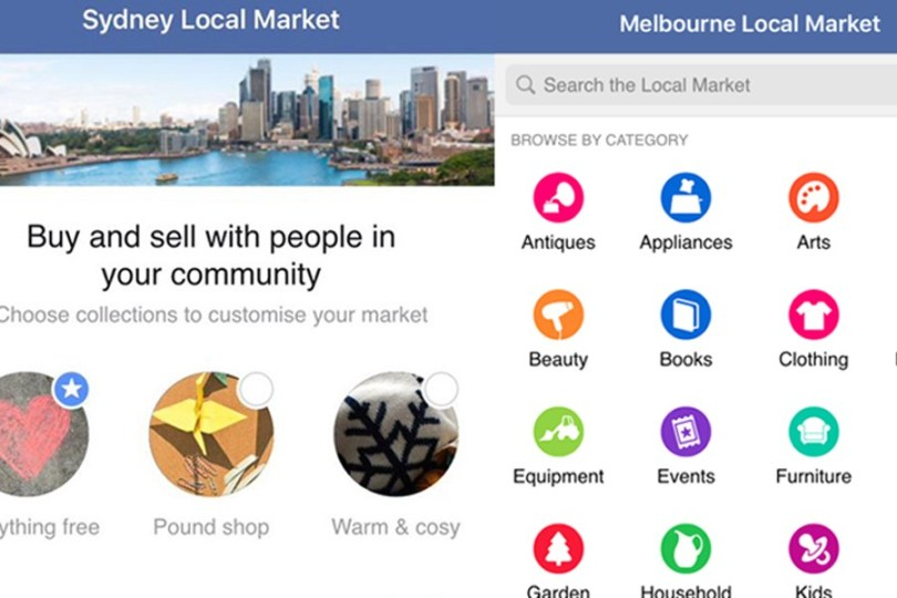 Facebook Local Selling Sites