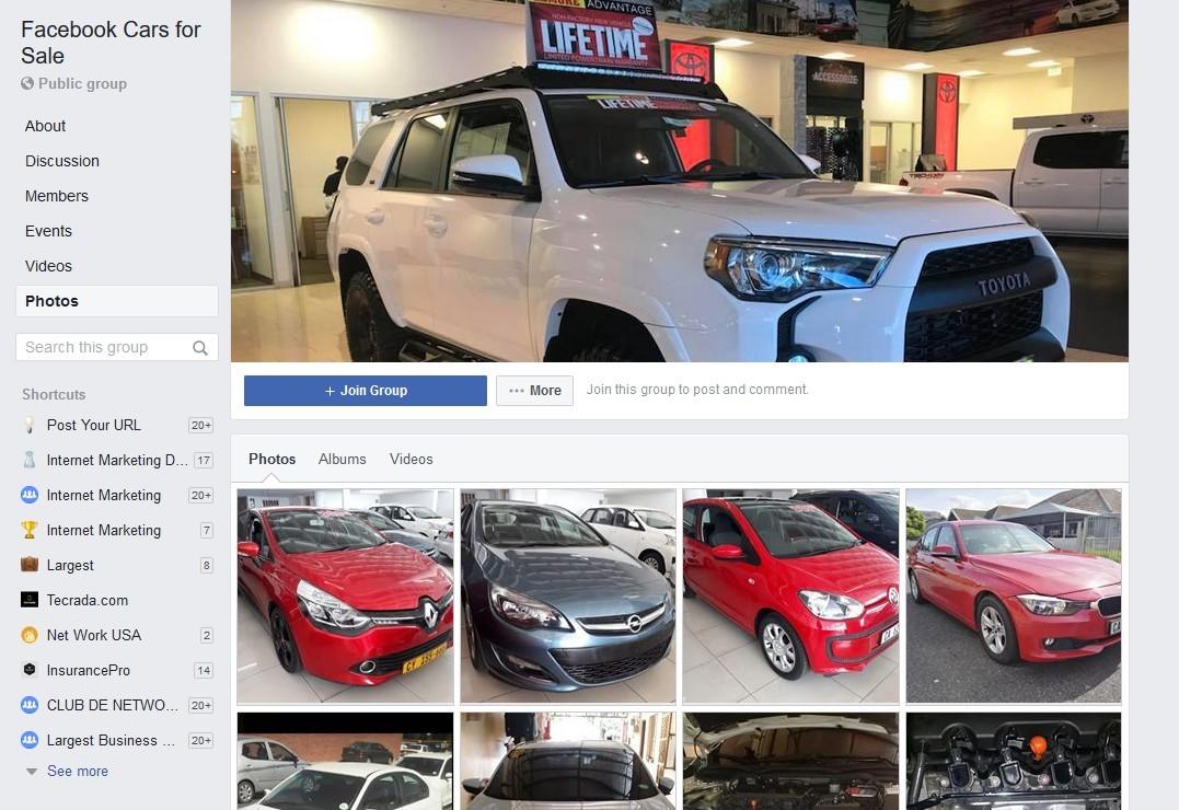 Facebook Cars for Sale Near Me