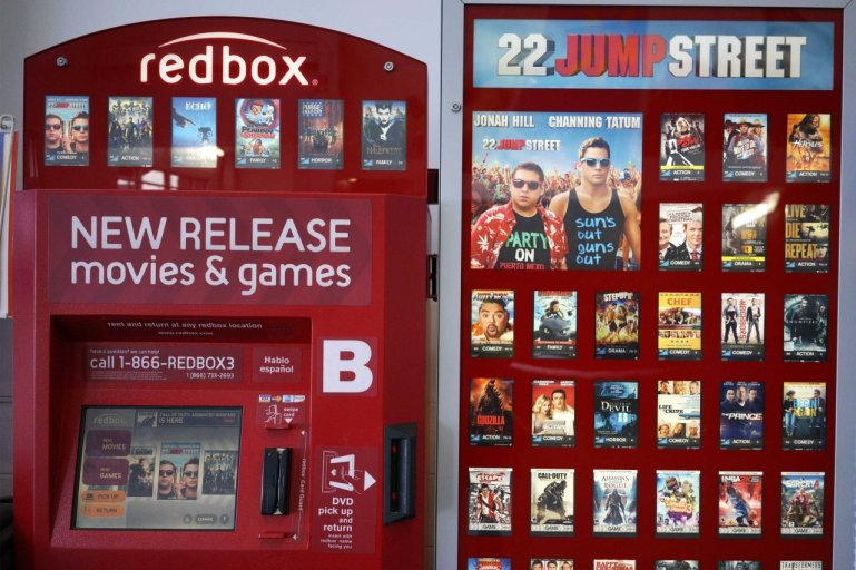 Redbox New Releases