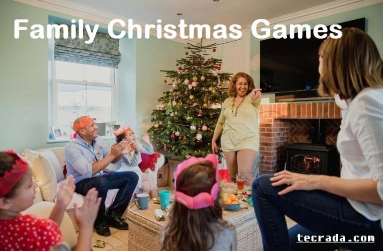family christmas games ideas