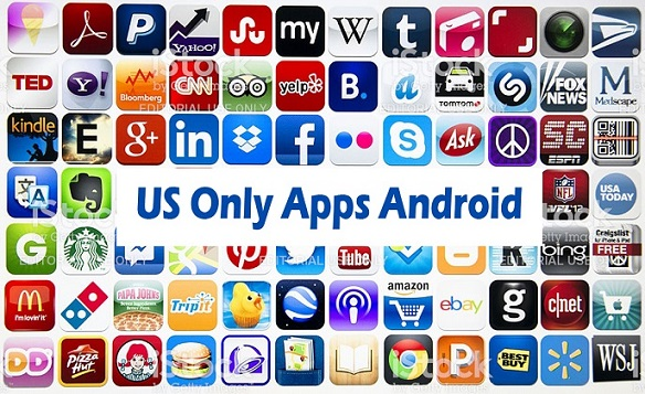 Popular US Only Apps