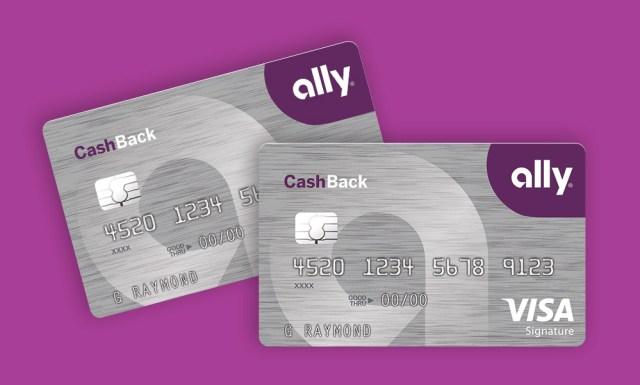 Ally Bank Credit Card Application
