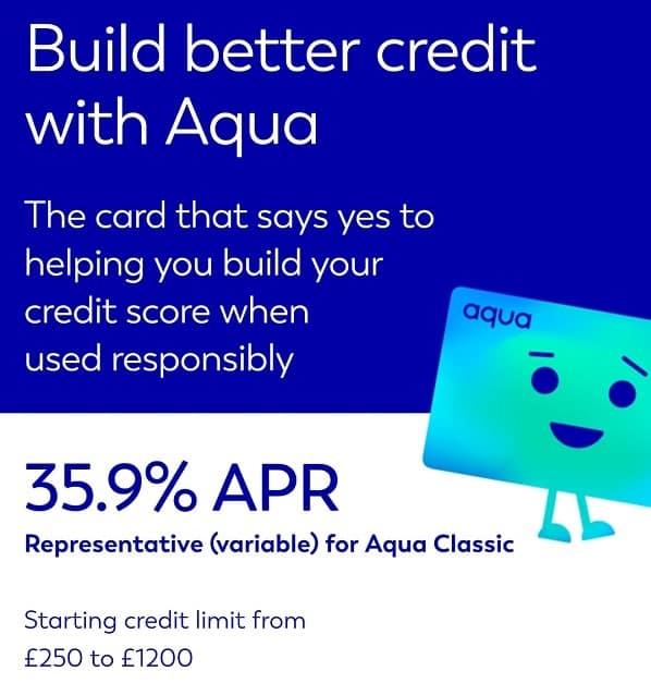 Aqua Credit Card Benefits
