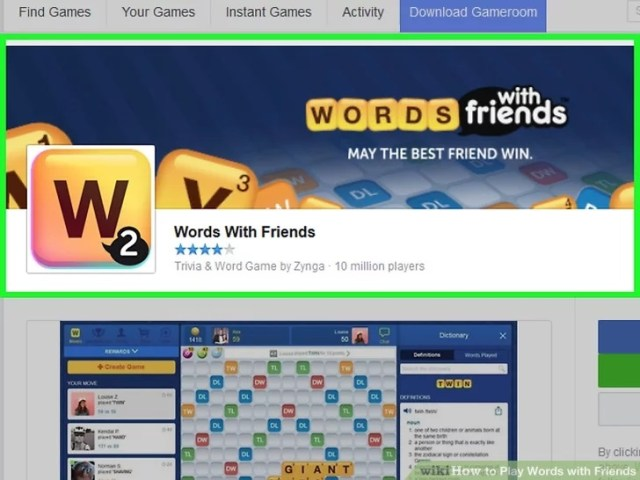 How to Play Words with Friends on Messenger