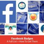 Facebook Group Badges List