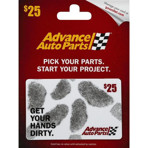 Advance Auto Parts Gift card Balance