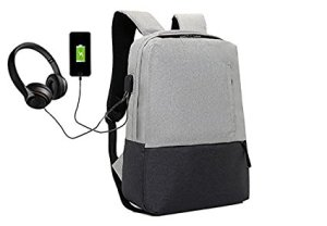 Vault Laptop Backpack with USB Charging Port