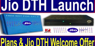 Unlimited Calls With Jio DTH Launch Offer & JioPhone 2 Launch Offer